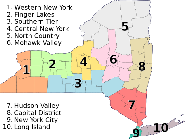 New_York_Economic_Regions